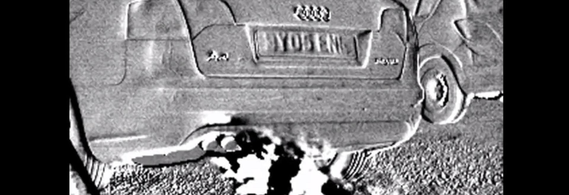 """La caméra infrarouge montre les émissions """"invisibles"""" de véhicule"""
