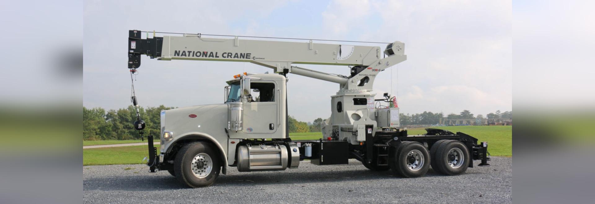 Camion national de boom de la grue NBT30H-2 TM