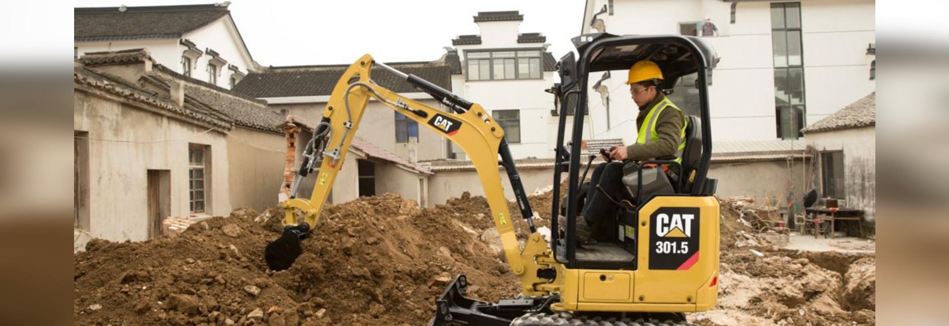 Caterpillar Nouvelle Génération 1 - aux excavatrices de 2 tonnes