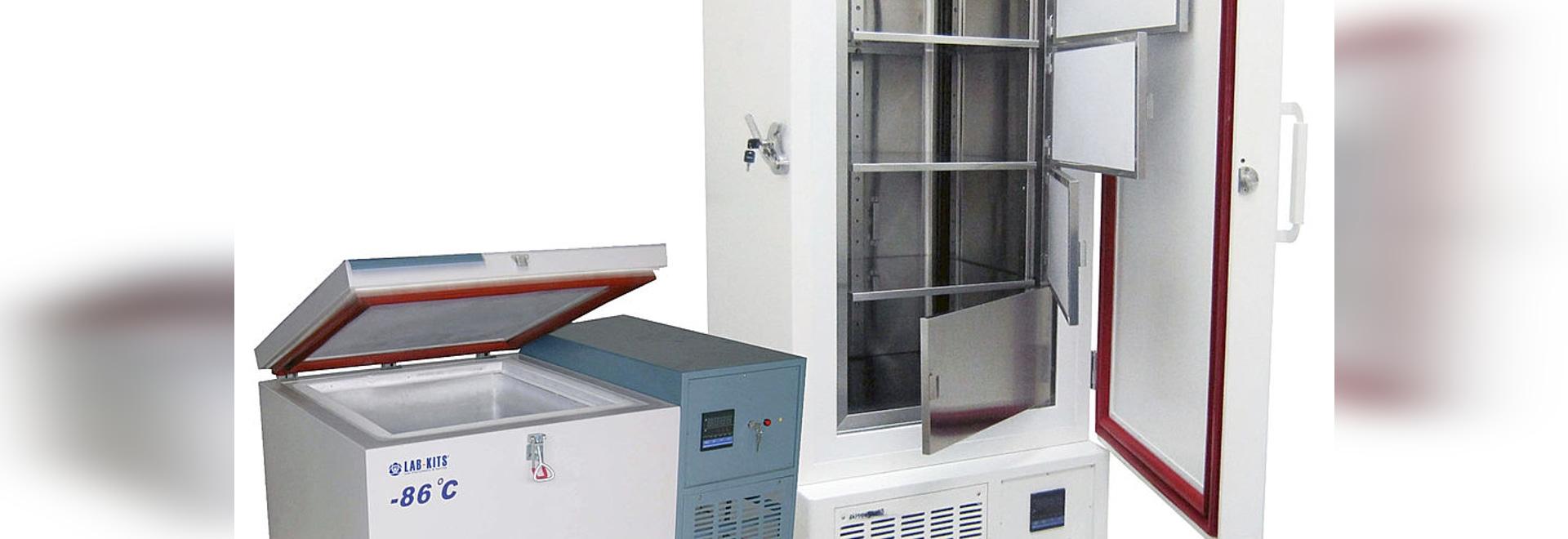 congélateur -86ºC de laboratoire de température ultra basse