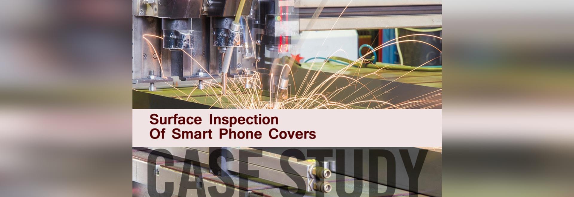 Couvertures intelligentes de téléphone d'inspection extérieure d'étude de cas