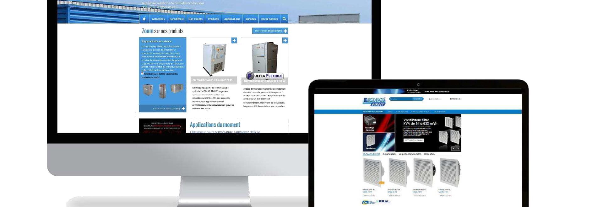 Les deux sites internet Eurodifroid