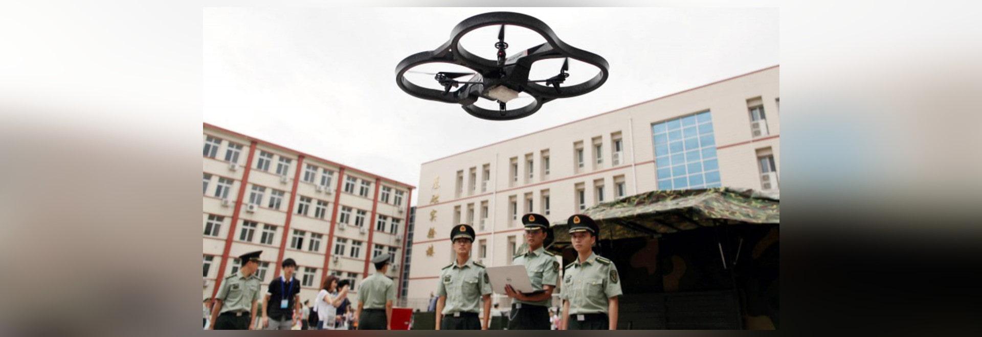 DÉVELOPPEMENT CHINOIS DE RAPPORT DE CANON DE LASER D'ANTI-DRONE