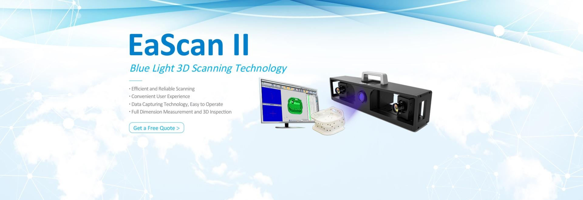 EaScan II fait l'apparition à la foire commerciale de contrôle 2018