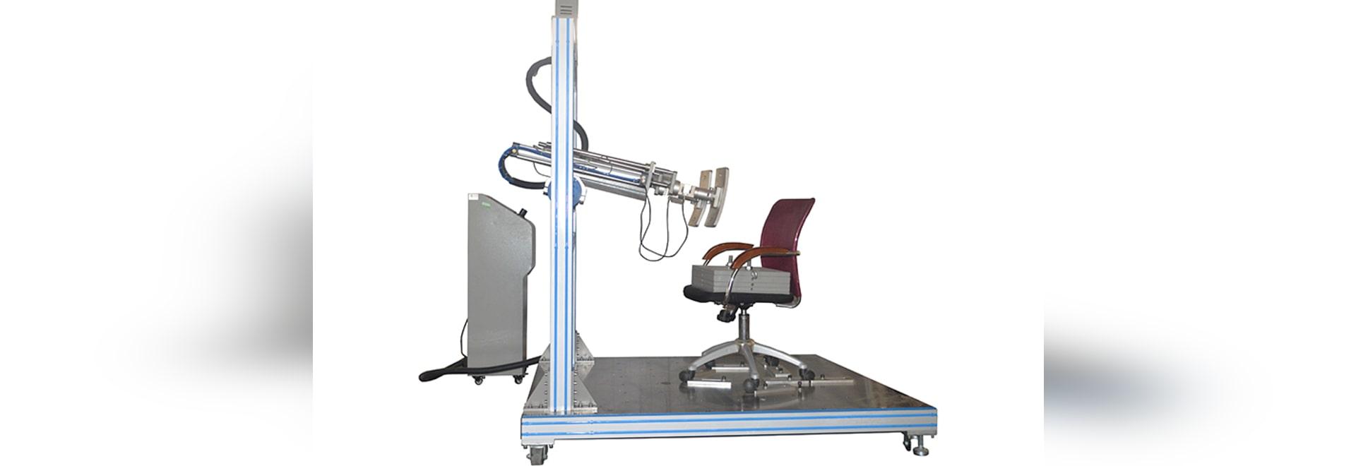 Équipement d'essai arrière de longévité de chaise de bureau