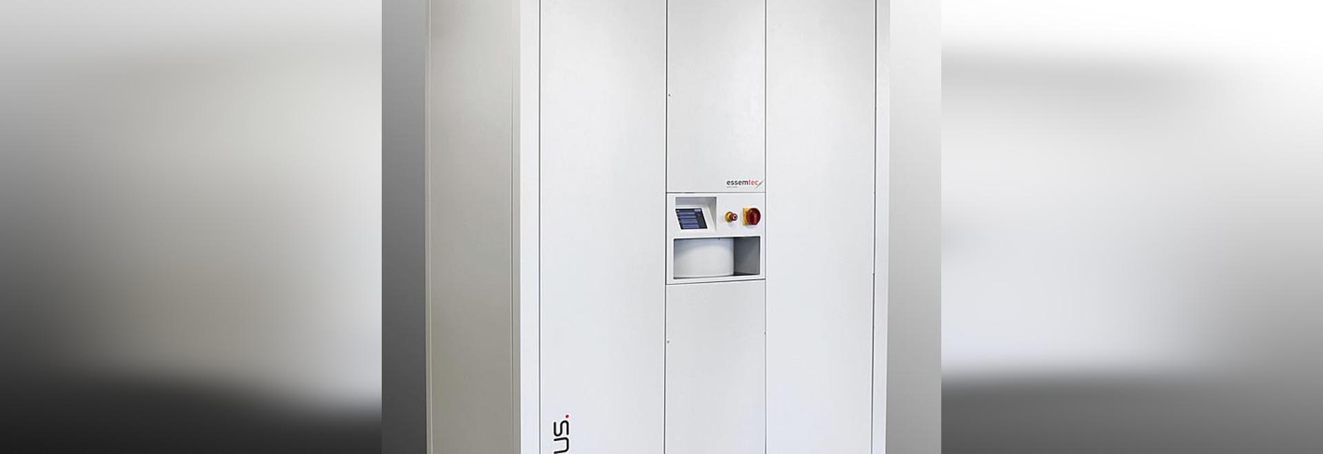 Essemtec AG a attribué le contrat pour 100 systèmes de stockage de Cubus SMT