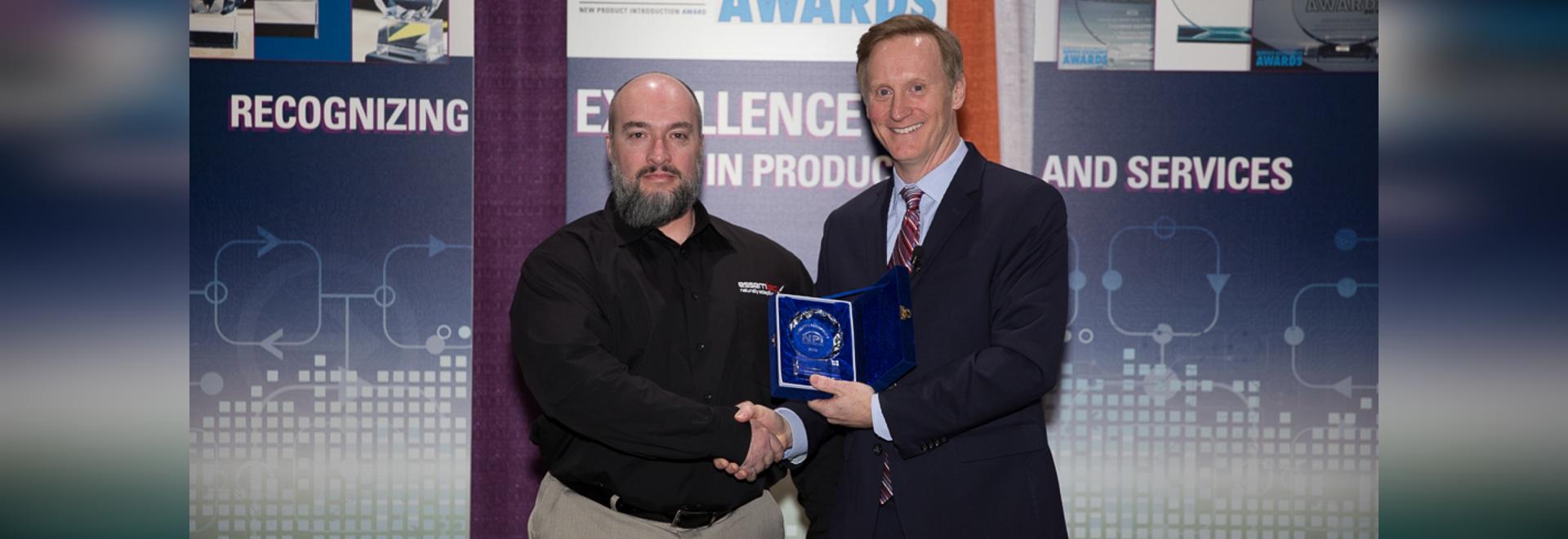 Essemtec gagne la récompense de NPI d'Assemblée de circuits dans la catégorie distribuant pour la tarentule tout le terrain Jet Dispenser