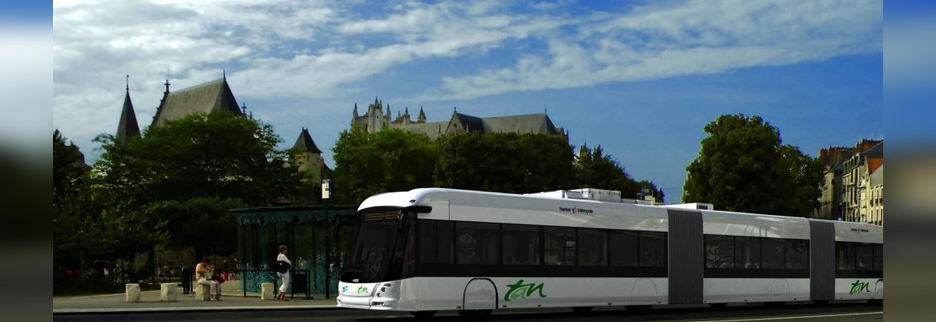Eurodifroid sur le projet Busway 100% électrique à Nantes