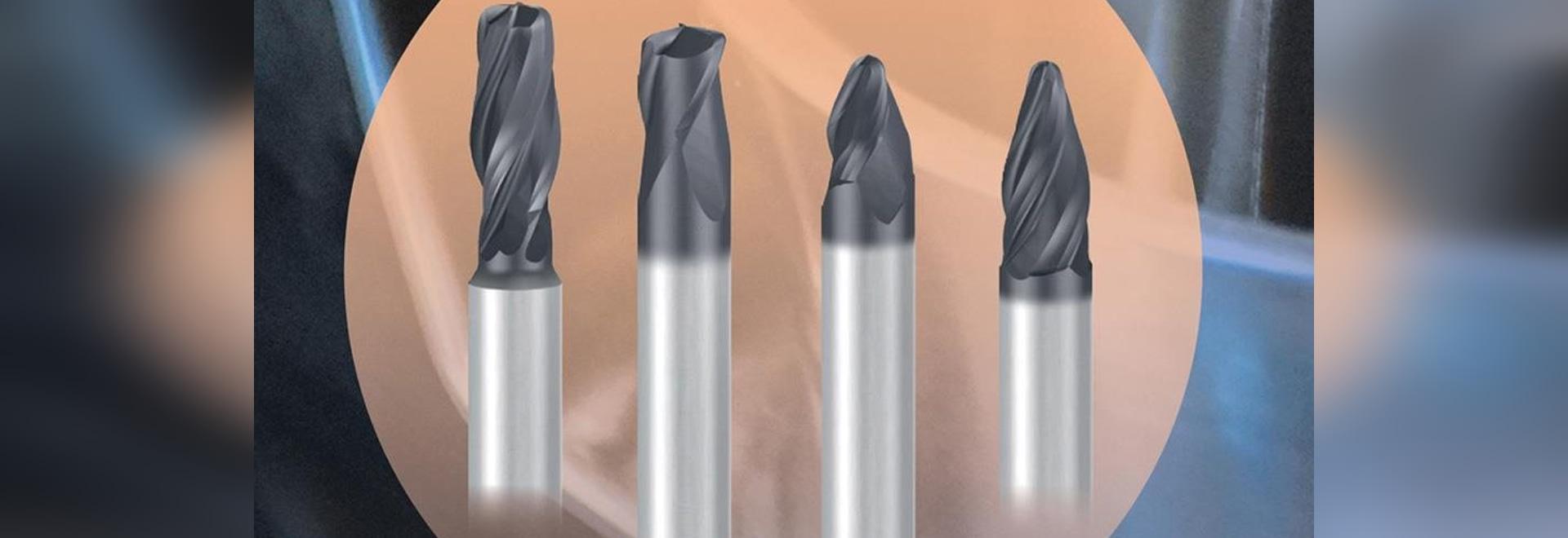 Extrémité Mills Offer More Material Removal de Cercle-segment avec moins passages