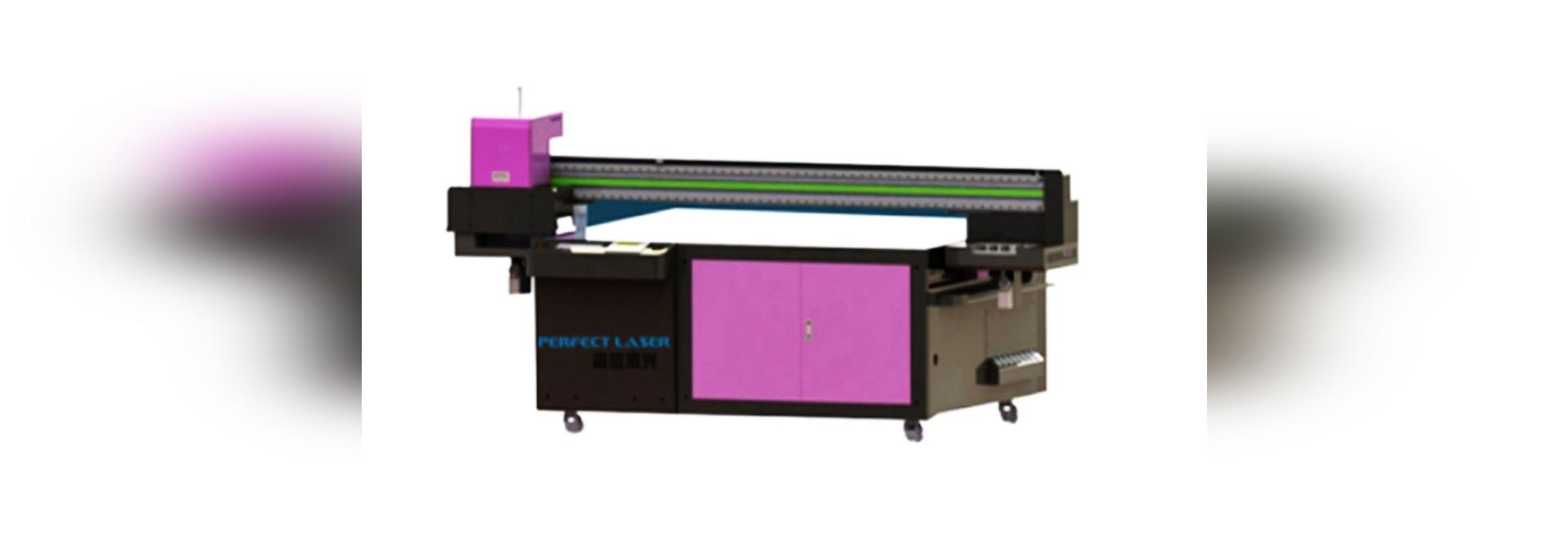 Imprimante à plat UV Printing Machine pour le bois en plastique en aluminium en verre PE-UV2513