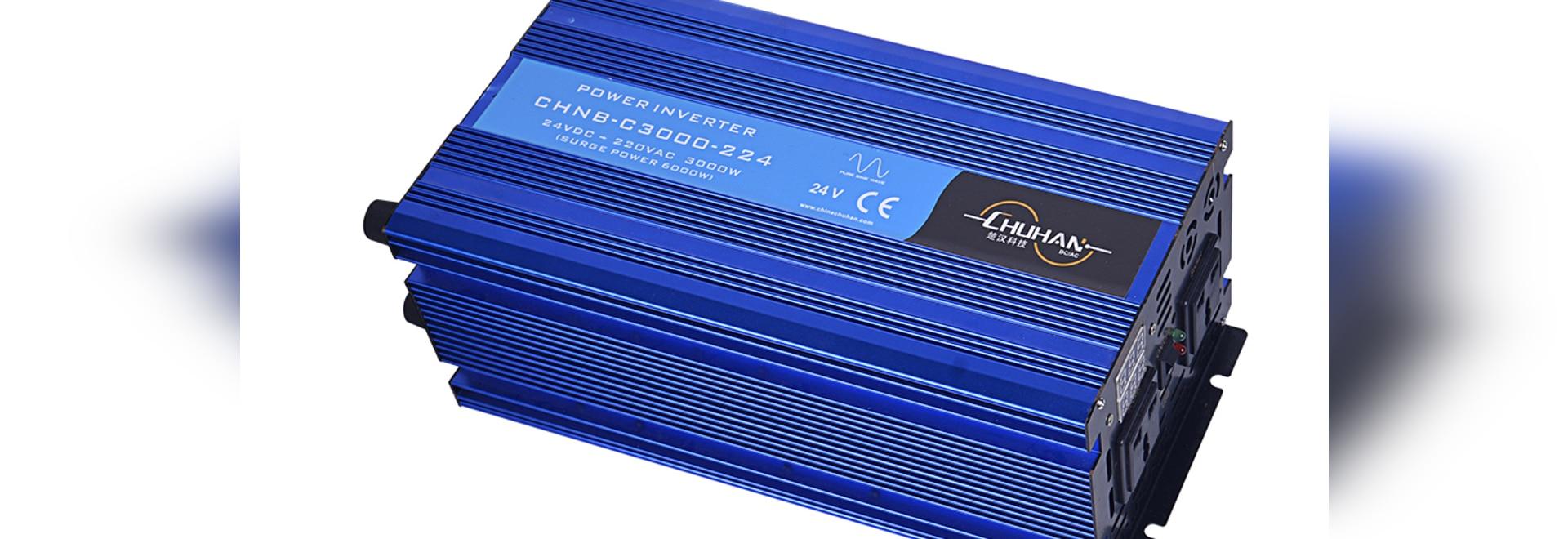 Inverseur pur 3000W d'onde sinusoïdale de CHUHAN DC/AC