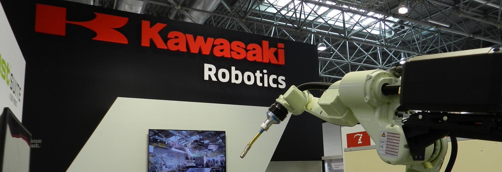 Kawasaki Arc Welding Robot BA006L chez Schweißen et Schneiden 2017