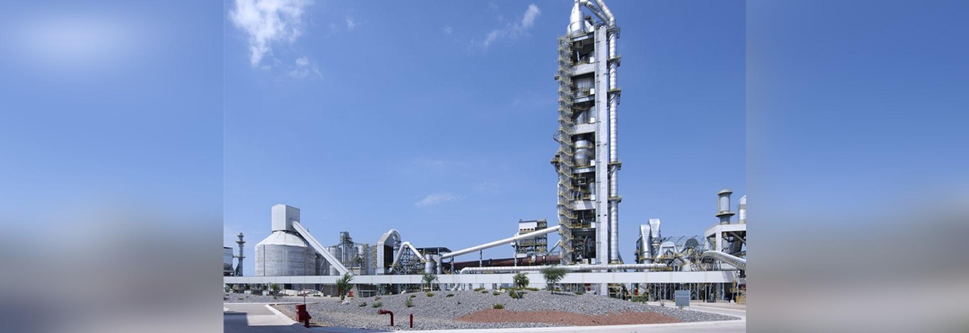 ligne de production de ciment