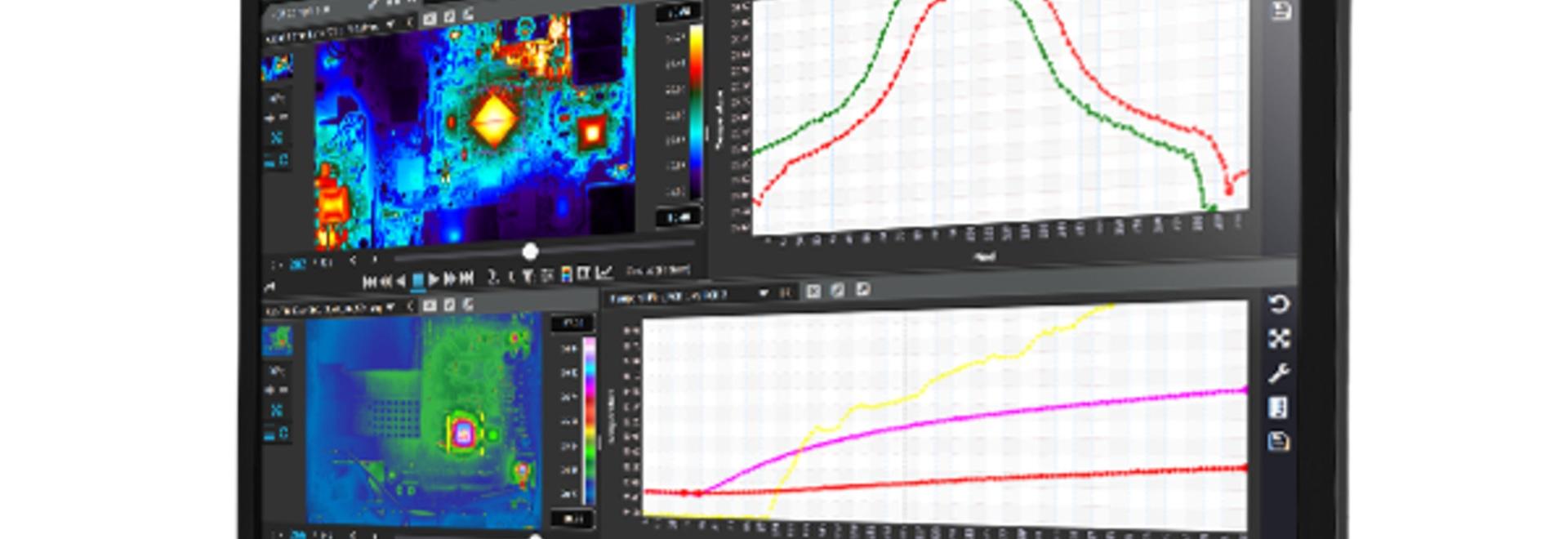 Logiciel multiplateforme pour la collecte et l'analyse de données d'imagerie thermique