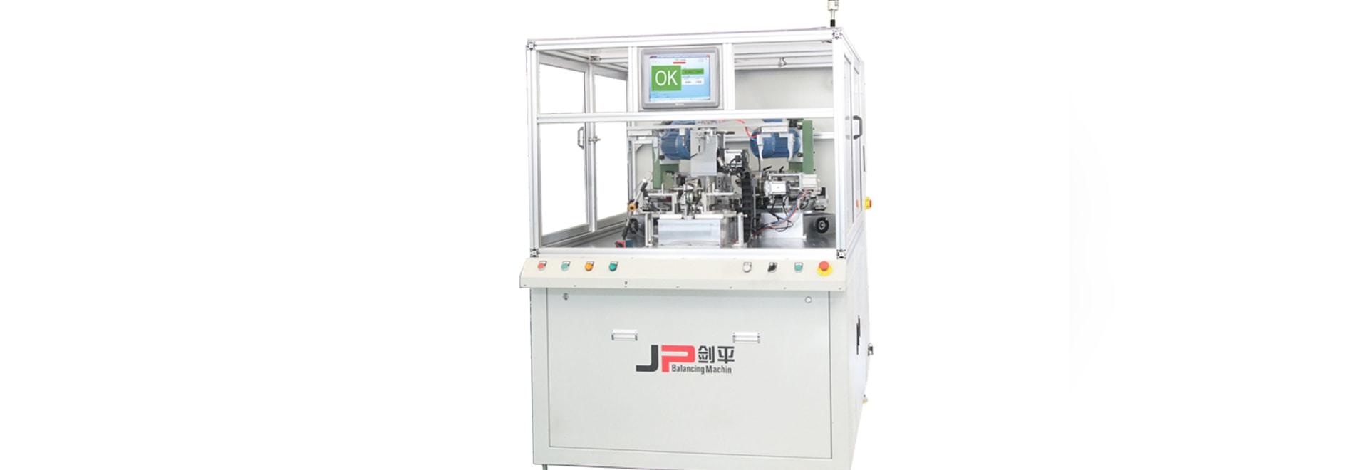 Machine de équilibrage automatique de rotor de générateur