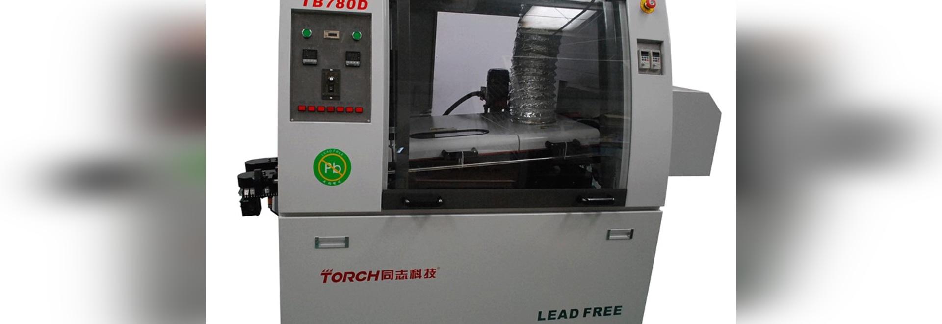 Machine de soudure de double de vague de SMT vague automatique en ligne de crête   TB780D