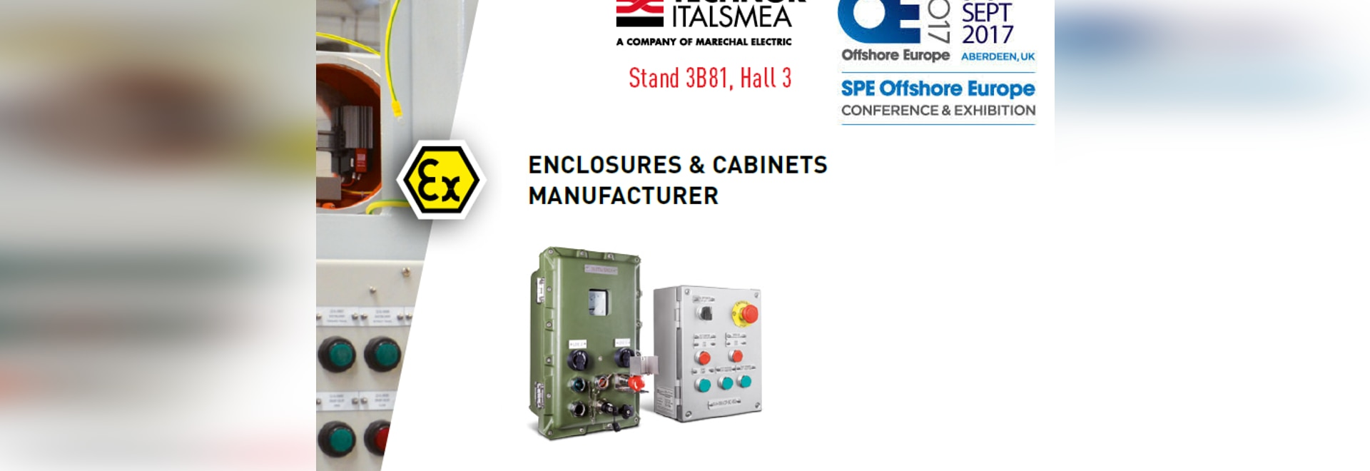 MARECHAL ELECTRIC à l'exposition SPE Offshore Europe 2017