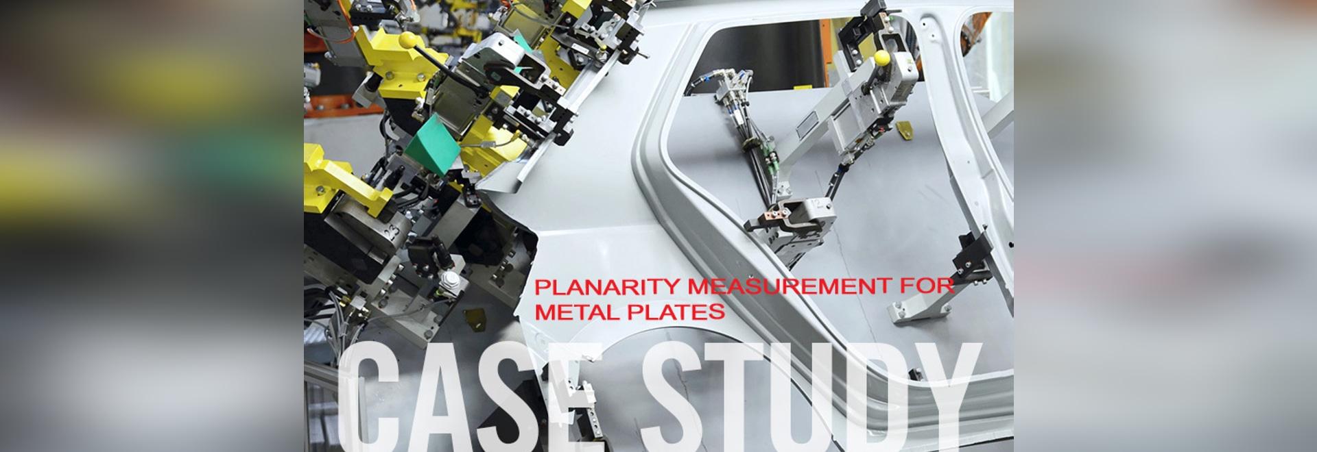 Mesure de Planarity pour des plaques de métal