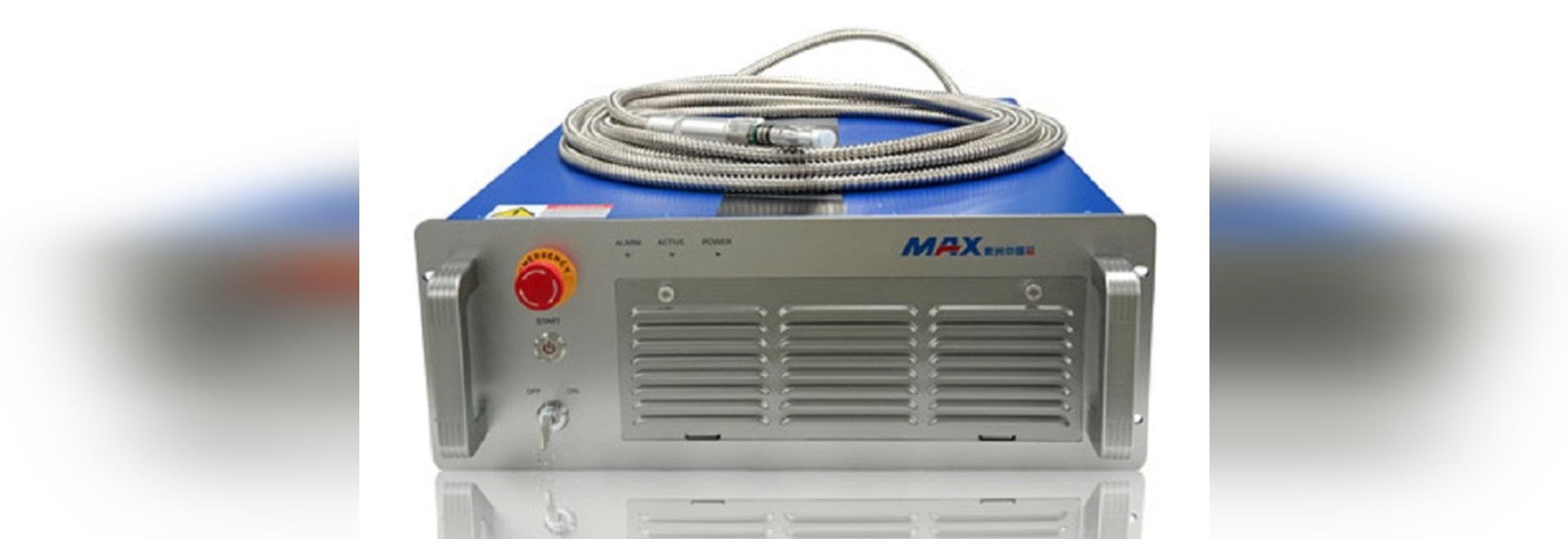 Nettoyage à commutation de Q en métal de laser de la fibre 100w de Max Pulsed (MFP-100)