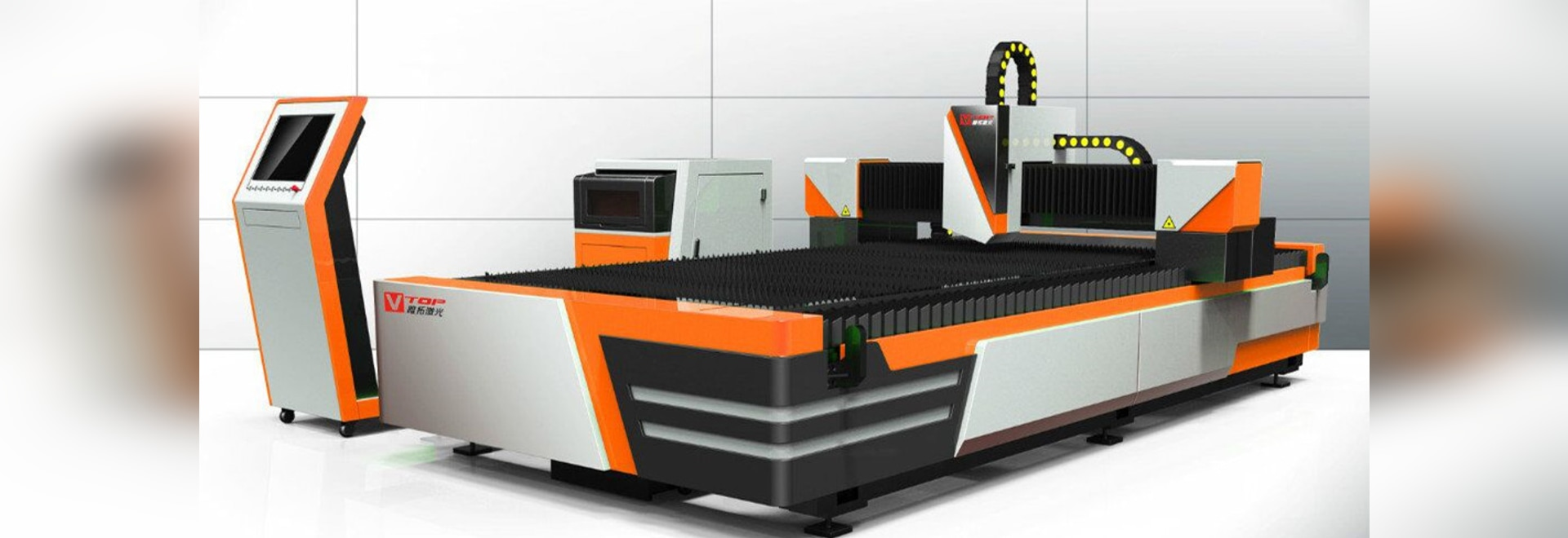 New Model Economic Open Type Fiber Laser Machine de découpe de feuilles de métal Conçu par Golden Vtop Laser