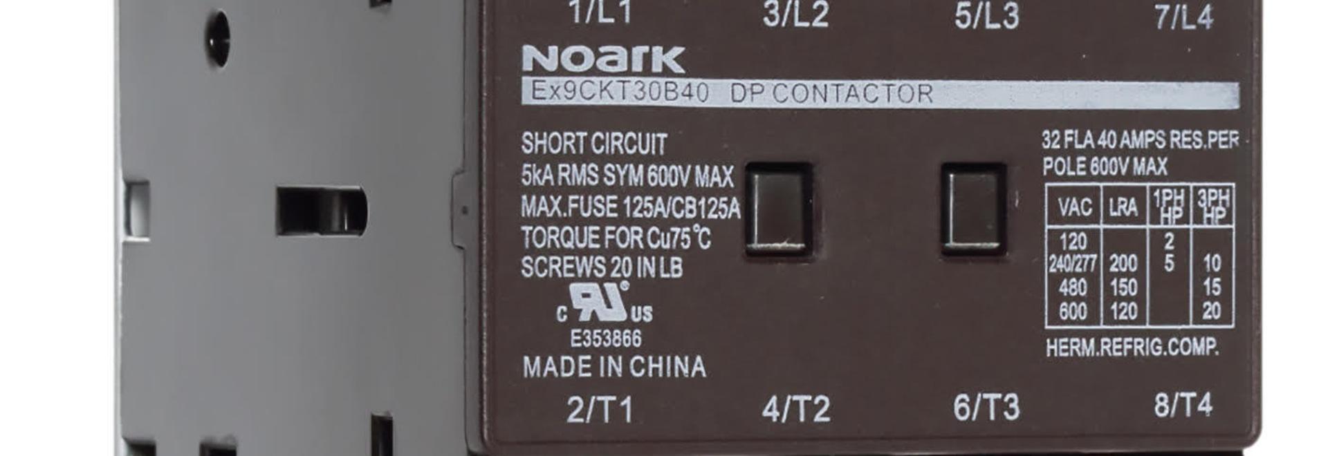 Noark électrique présente 3 ligne - et de contacteur du DP 4-Pole