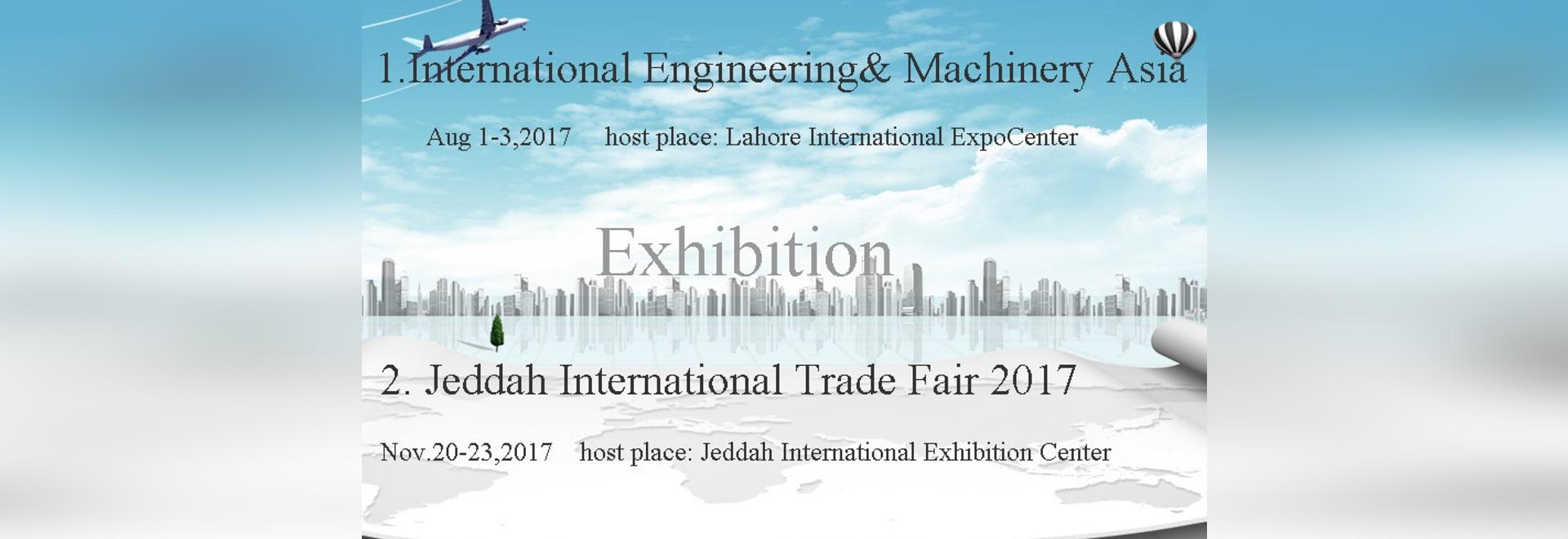 Nous organiserons des expositions au Brésil, Pakistan, Arabie Saoudite