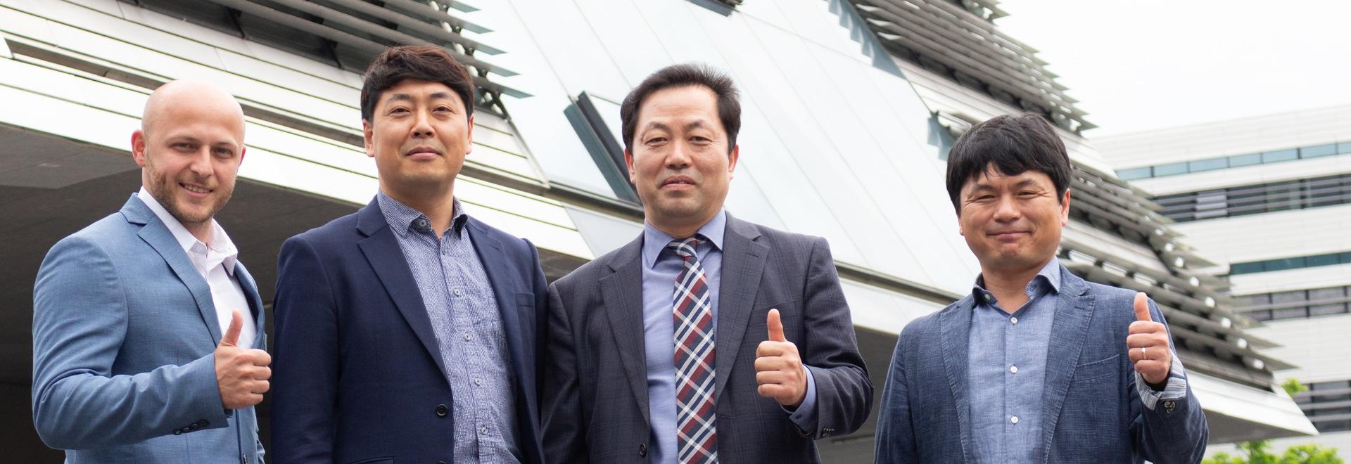 Nouveau partenaire en République de Corée