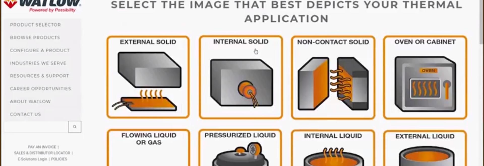 L'outil de configuration de produit a présenté