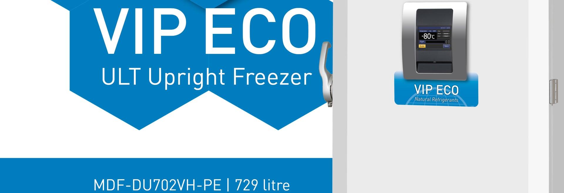 Présentation de notre congélateur ULT de VIP plus de rendement optimum ECO : le MDF-DU702VH