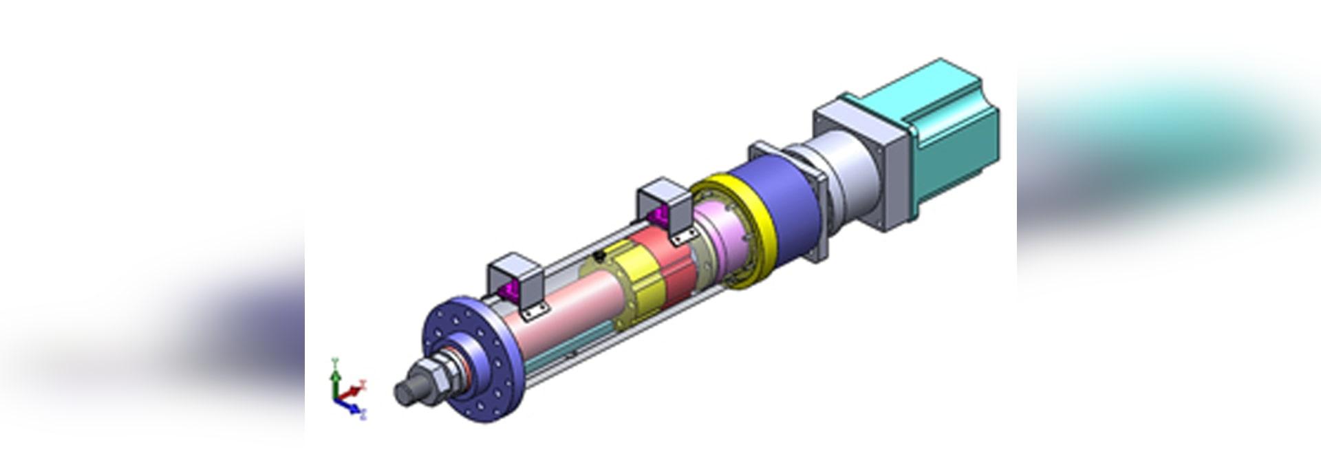 Principe de l'actionneur électrique linéaire et son fonctionnement