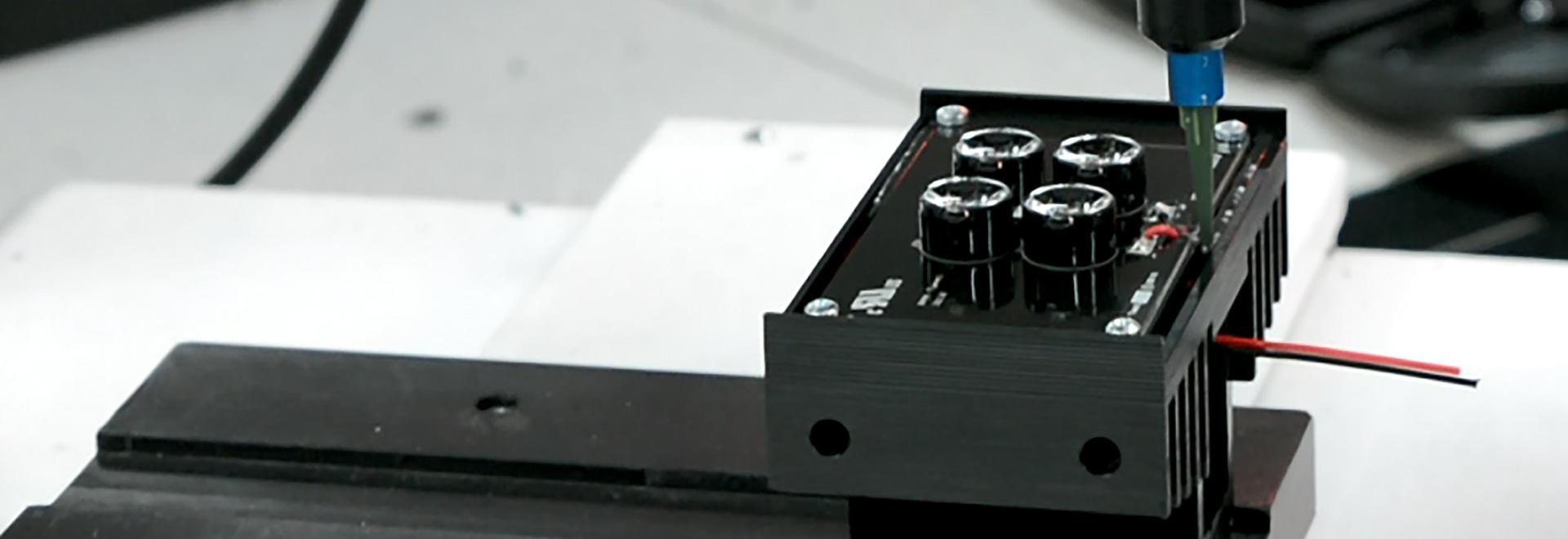 production d'Iluminator-logement à GJD avec un système de preeflow.