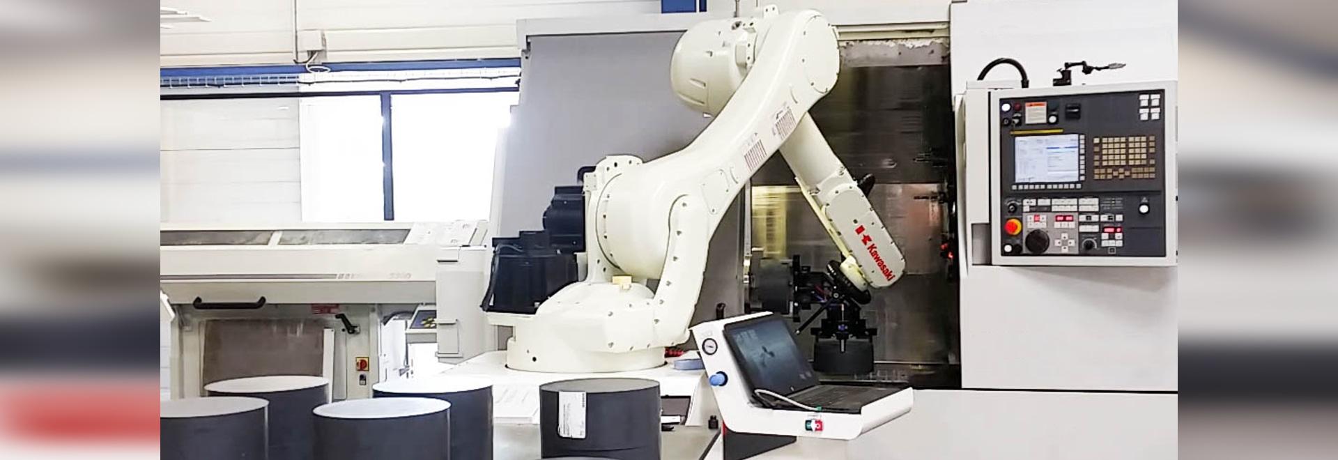 Robot de chargement – déchargement de machines-outils ROBOTFLEX