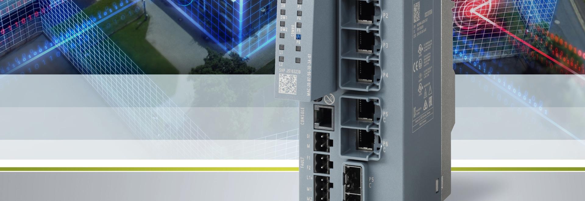SCALANCE SC-600 : Les appareils de sécurité industrielle offrent la protection contre l'accès non autorisé