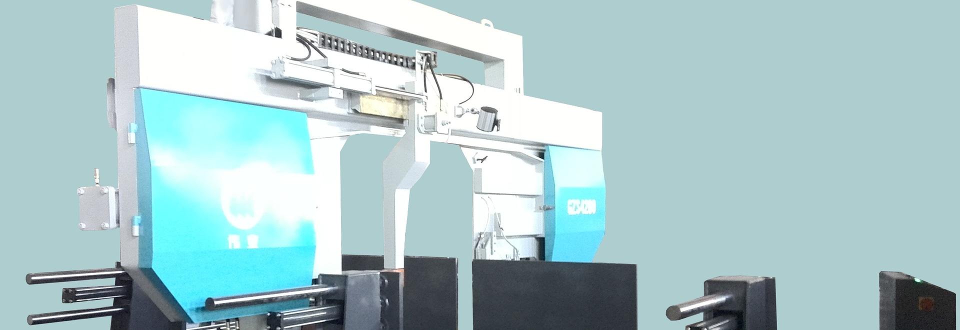 Scie à ruban en acier structuré type WEIYE GZS4280
