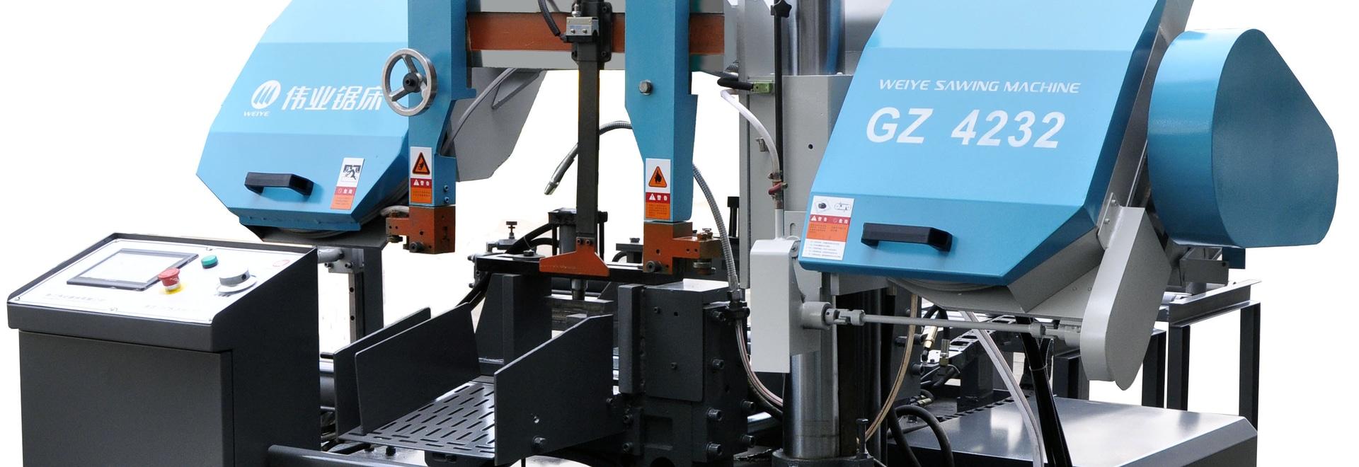 Scie à ruban automatique horizontale pour la coupe des métaux