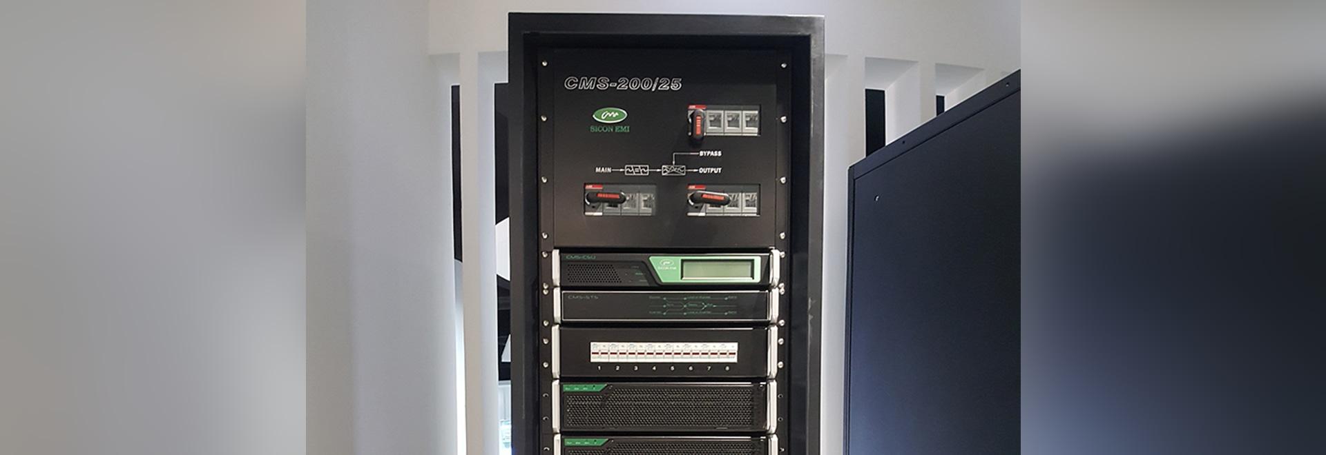 Sicon UPS modulaire installé dans le groupe de gaz de Pékin
