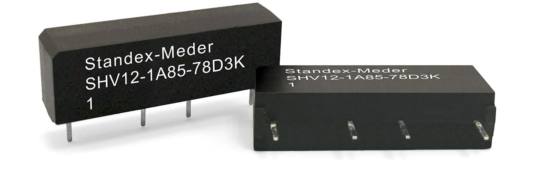 Standex-Meder vous présente les Relais SHV