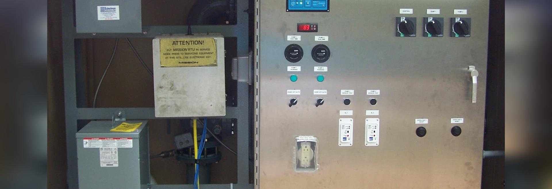 Station d'ascenseur de secours installée dans un calendrier de six semaines