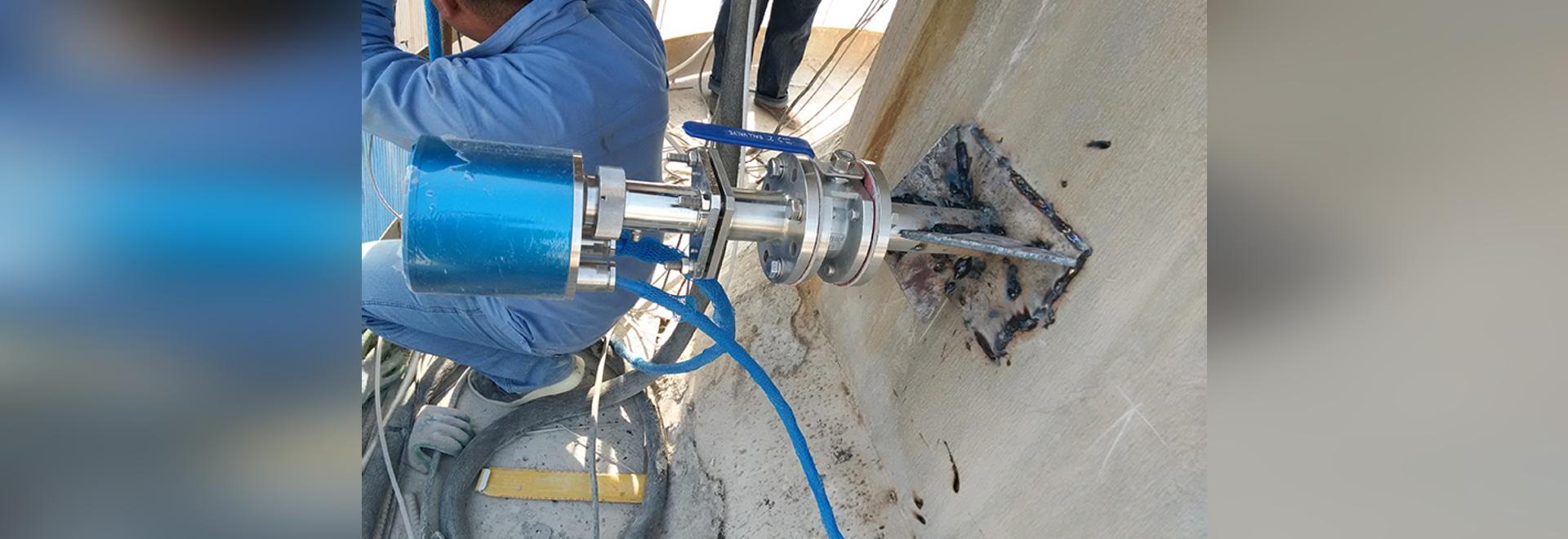 Surveillance en ligne de HCl/HF dans l'incinération des déchets