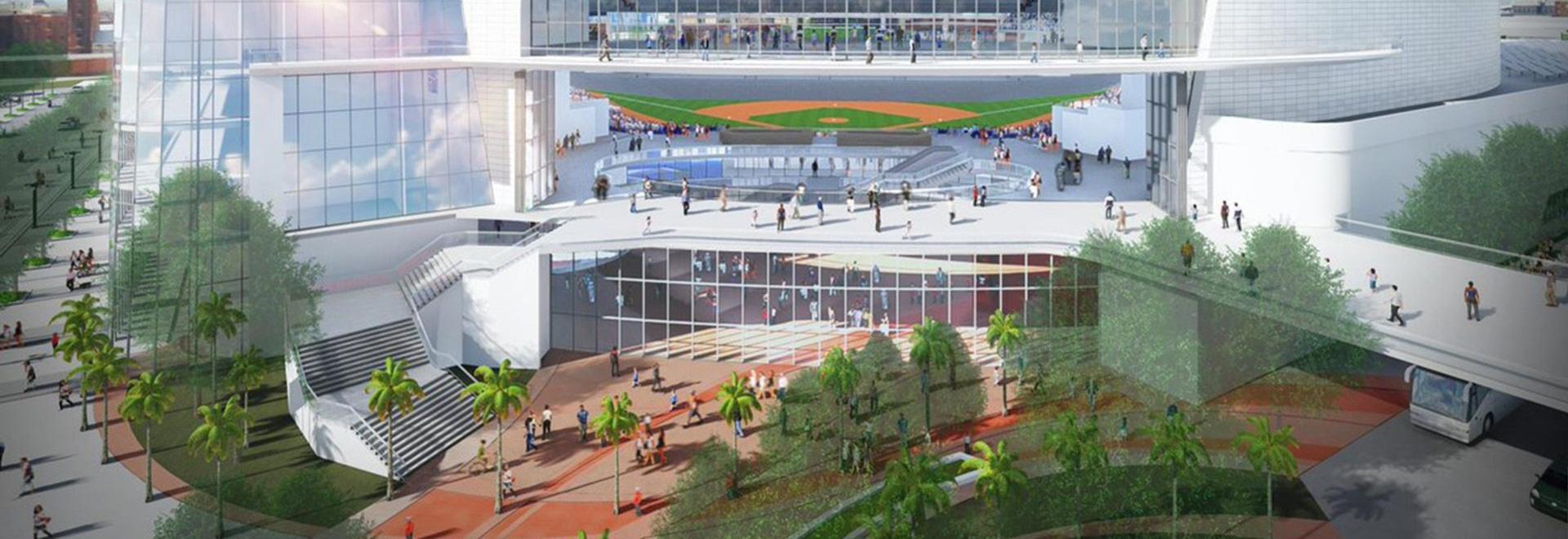 Les Tampa Bay Rays dévoilent des rendus de stade voûté