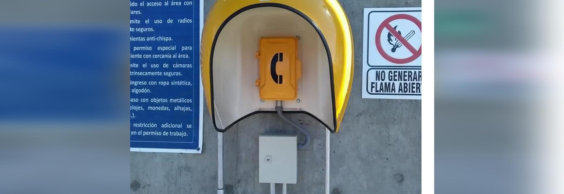 Téléphone résistant de J&R pour le Baja California III Mexique d'usine de cycle combiné