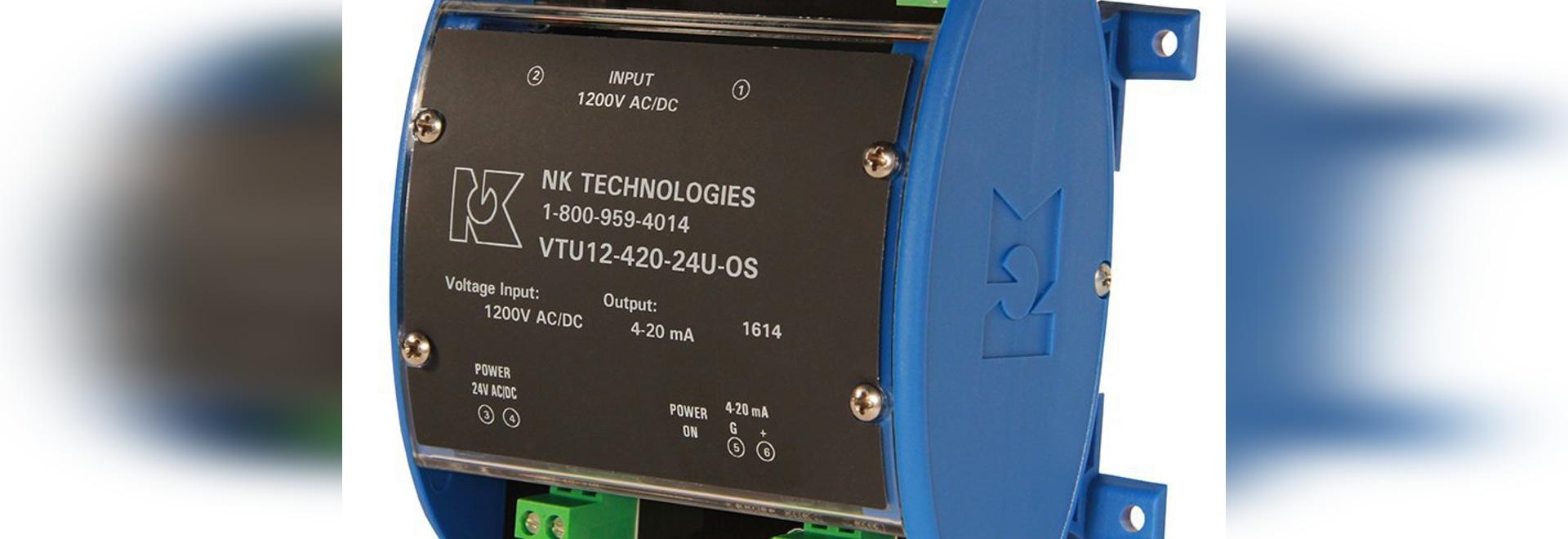 Le transducteur de tension mesure des tensions de circuit avec à un seul capteur