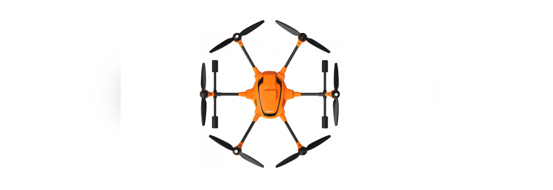 Yuneec H520 Hexacopter commercial avec RTK
