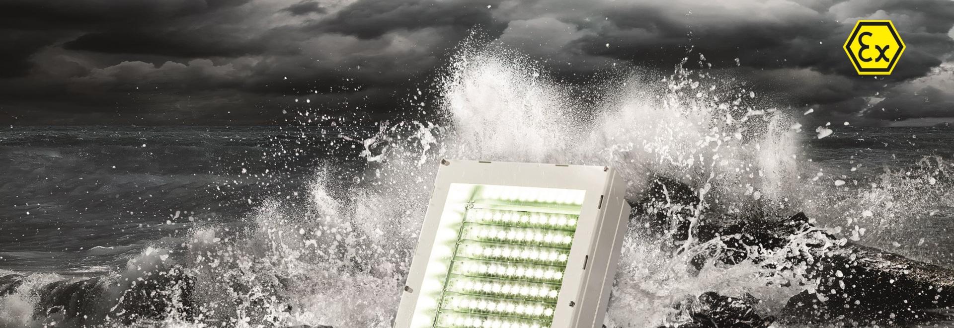La zone 1 dans la lumière : projecteurs LED polyvalents et robustes