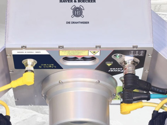 HAVER INLINE Système pour l'analyse directe des matériaux sur le convoyeur à bande.