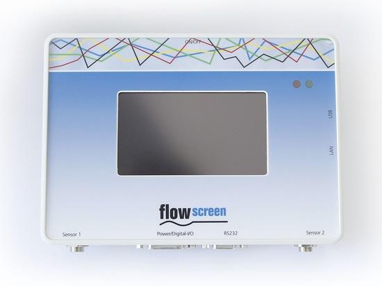 flowscreen - le système d'analyse graphique de temps/pression