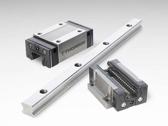 Thomson les guides linéaires de rail de profil de 400 séries sont idéal pour des applications d'automation.