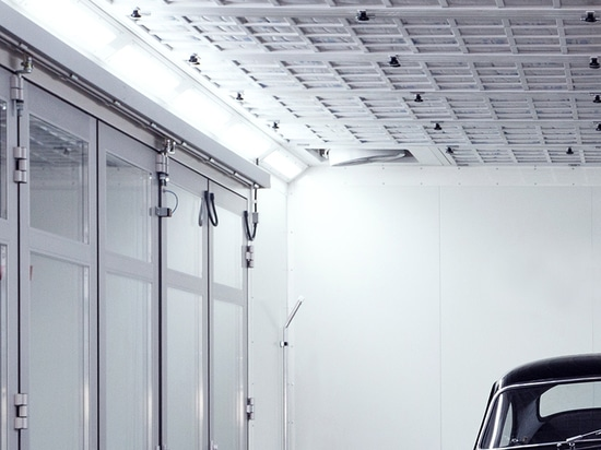Nouvelle lumière   LED Atex pour cabines de peinture