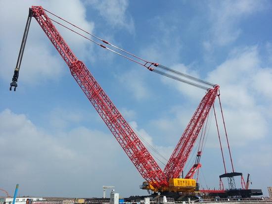 Des grues de chenille de Sany (SCC2500 et SCC3000US) ont été utilisées dans la construction du tunnel de Niagara – le plus grand projet de construction hydraulique en Amérique du Nord.