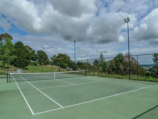 Lumière élevée de mât de LED dans le court de tennis, Australie